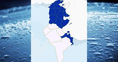 Niederschlagsmengen Tunesien: Mo, 14 Sep – Di, 15 Sep 2020, 7 Uhr