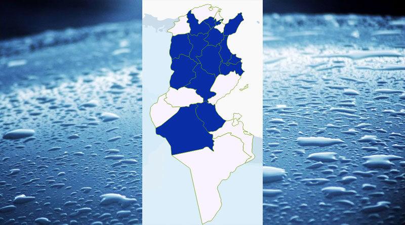 Niederschlagsmengen Tunesien: Mo, 21 Sep – Di, 22 Sep 2020, 7 Uhr