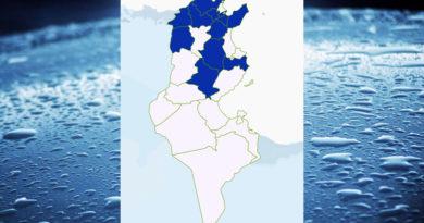 Niederschlagsmengen Tunesien: Mo, 12 Okt – Di, 13 Okt 2020, 7 Uhr