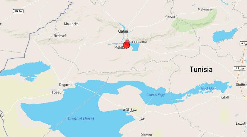 2 Nov 2020: Zwei Erdbeben im Gouvernorat Gafsa [M3.32]