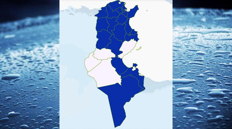 Niederschlagsmengen Tunesien: Mi, 18 Nov – Do, 19 Nov 2020, 7 Uhr