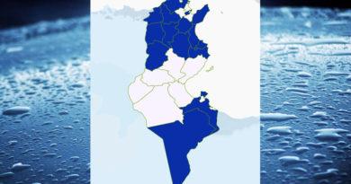 Niederschlagsmengen Tunesien: Sa, 21 Nov – So, 22 Nov 2020, 7 Uhr