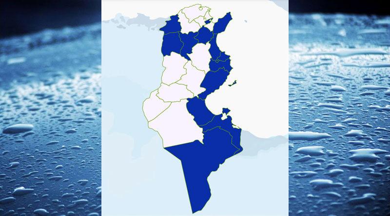 Niederschlagsmengen Tunesien: Di, 24 Nov – Mi, 25 Nov 2020, 7 Uhr