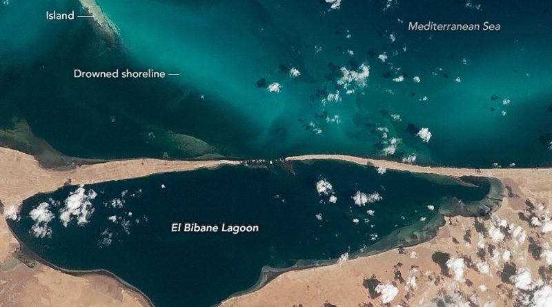 Die Lagune El Bibane bei Zarzis - Geschützte Kinderstube für Fische