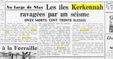 5 Okt 1957: Erdbeben auf den Kerkennah-Inseln - 11 Tote und 130 Verletzte