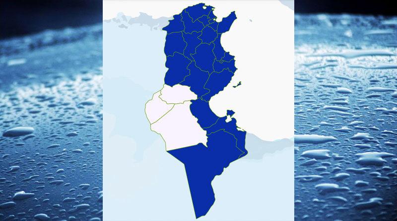 Niederschlagsmengen Tunesien: Mo, 21 Dez – Di, 22 Dez 2020