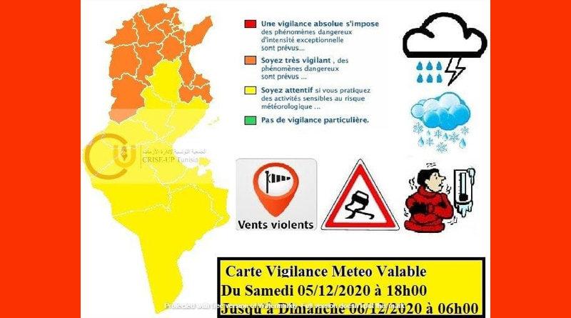 Warnung vor Schnee, Kälte, Wind und Niederschlägen ab Sa, 5 Dez 2020