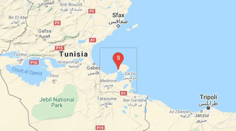 11 März 2021: Erdbeben auf Djerba im Gouvernorat Médenine [M3.10]