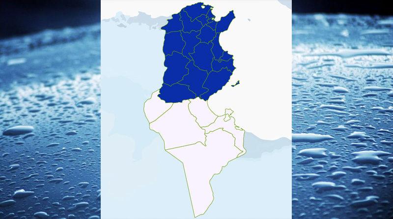Niederschlagsmengen Tunesien: Di, 9 März – Mi, 10 März 2021