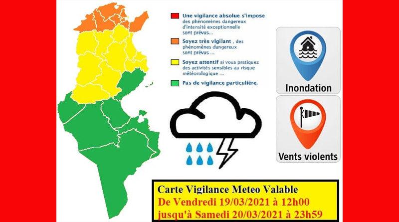 19 März 2021: Warnung vor Gewitter, Starkregen, Überflutung, Wind