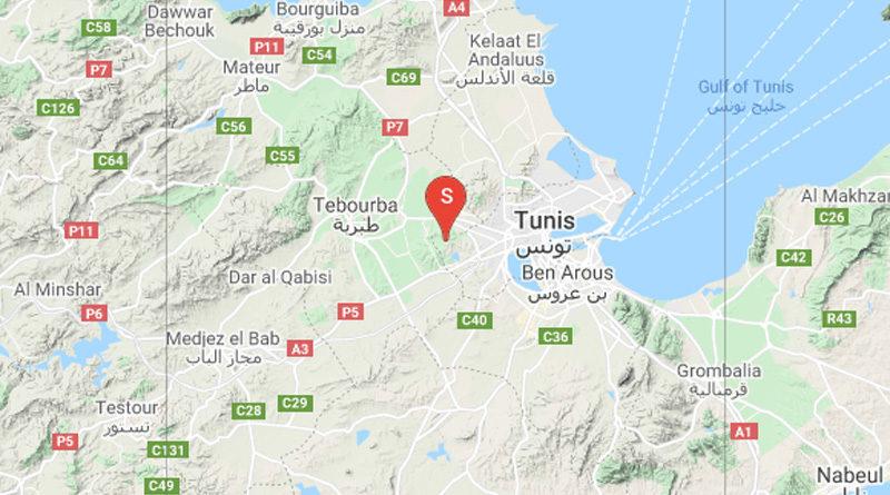 31 Mai 2021: Zwei Erdbeben in Mornaguia, Manouba [M2.56/2.44]