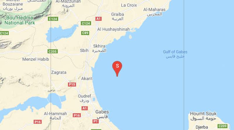 19 Mai 2021: Erdbeben im Golf von Gabès [M3.00]