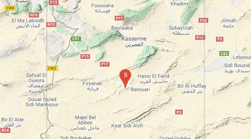 14 Juni 2021: Erdbeben in den Gouvernoraten Kasserine [M3.2] und Nabeul [M3.0]