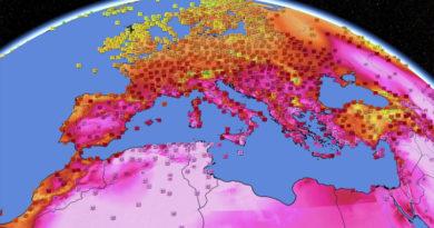 11 Aug 2021: Neue Rekordtemperaturen für zwei Gouvernorate - Bild: Infoclimat