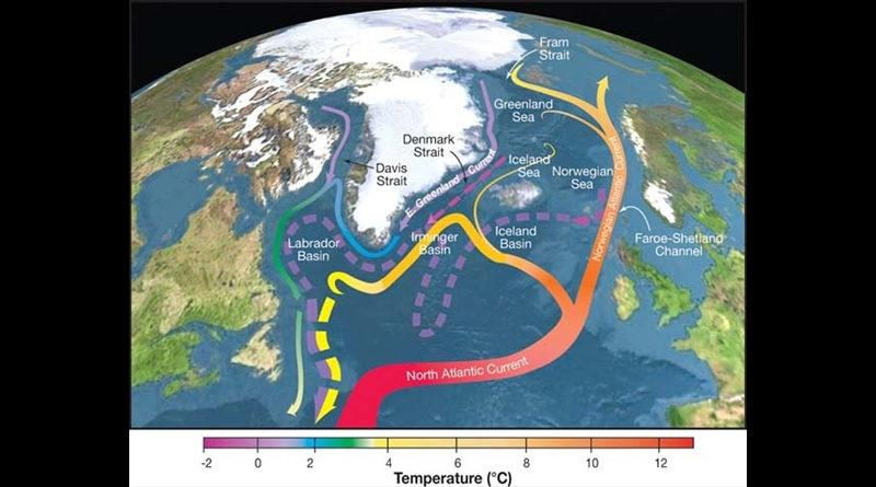 Klimawandel: Atlantische Umwälzströmung verliert Stabilität