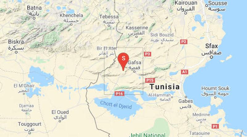 27 Sep 2021: Erdbeben im Gouvernorat Gafsa [M4.20]