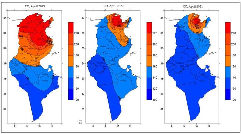 Luftqualität in Tunesien hat sich in den Lockdowns erheblich verbessert