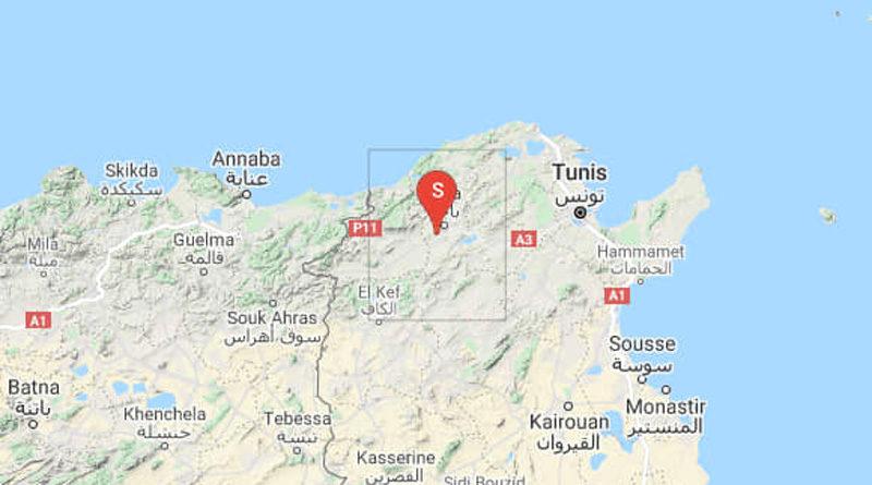 5 Okt 2021: Erdbeben im Gouvernorat Béjà [M4.00/3.00]