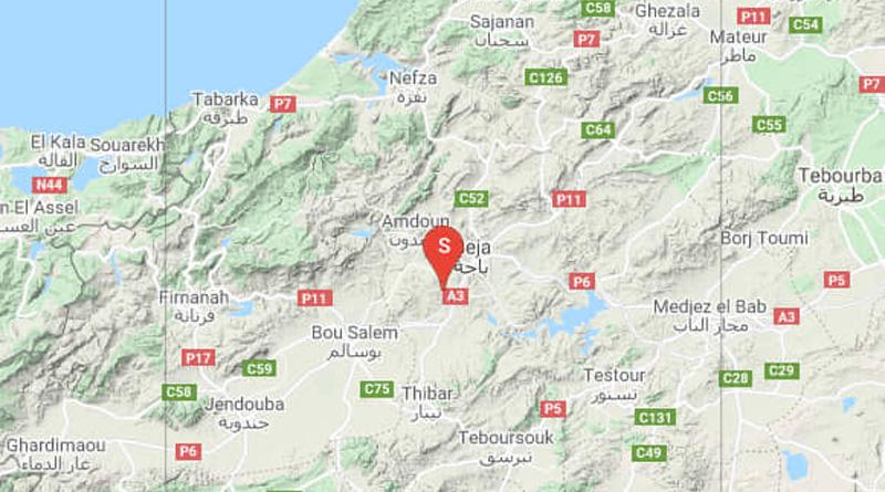 Erdbeben im Gouvernorat Béjà [M4.00/3.00]