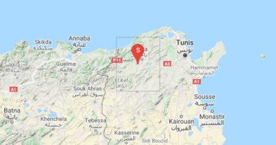 6 Okt 2021: Erneutes Erdbeben im Gouvernorat Béjà [2.60]