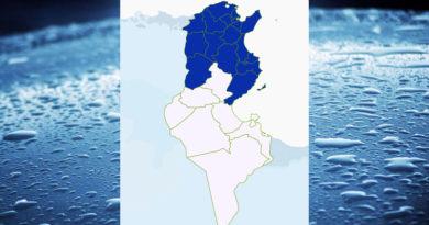 Niederschlagsmengen Tunesien: Mo, 25 Okt – Di, 26 Okt 2021, 7 Uhr